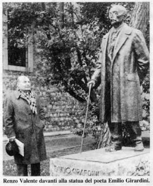 Statua Emilio Girardini Udine